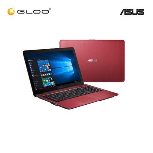 """Asus Vivobook X441N-AGA140T Notebook (Intel Celeron N3350,500GB,4GB,14"""",W10,Intel HD,Red)"""