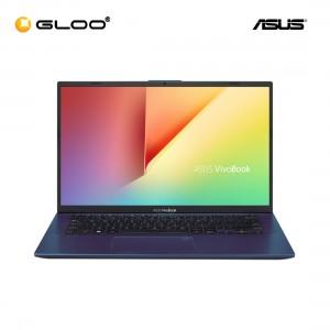 """ASUS A412F-LEB257T (i5-10210,4GB,512GB,NV 2GB,14"""",W10,BLU)"""