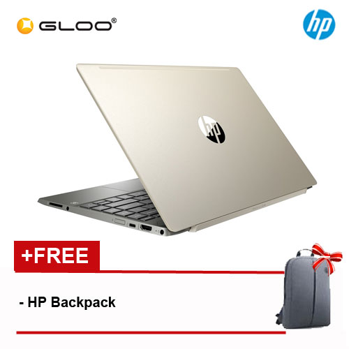 "NEW HP Pavilion 13-an0010TU 13.3"" FHD Laptop (i7-8565U, 512GB, 8GB, Intel UHD Graphics 620, W10) - Gold [FREE] HP Backpack"