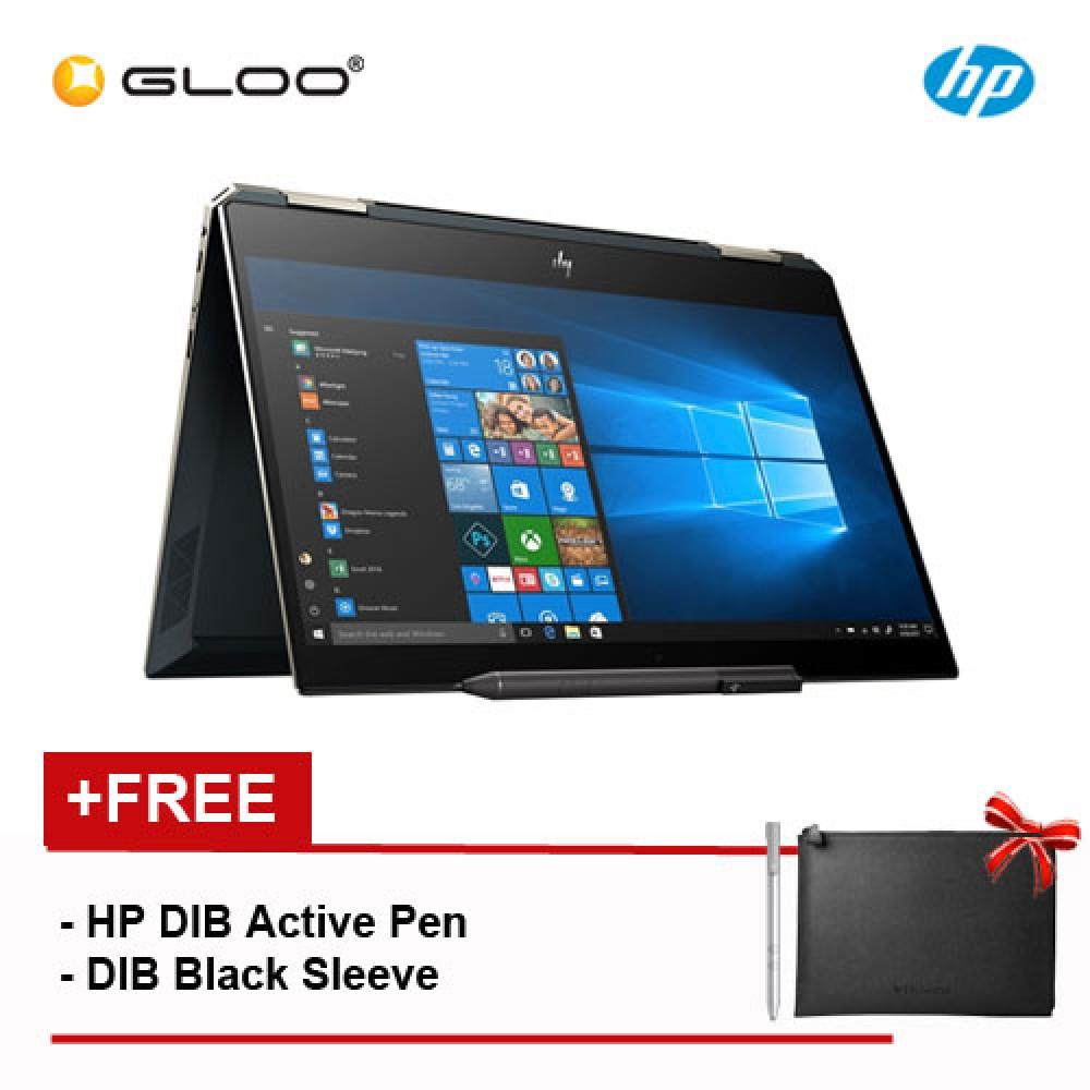 """HP Spectre X360 13-AP0046TU 13.3"""" FHD Thin Flip Laptop (i7-8565U, 512GB, 8GB, Intel® UHD Graphics 620, W10) - Poseidon Blue"""