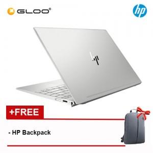 "NEW HP ENVY 13-ah1038TX 13.3"" FHD Laptop (i5-8265U, 256GB, 8GB, Nvidia MX150 2GB, W10) - Natural Silver [FREE] HP Backpack [Redeem MS Office 365 Personal worth RM499 - 20 Dec 2019 - 15 Feb 2020*]"