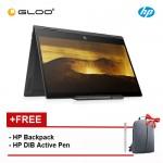 NEW HP ENVY x360 13-ag0001AU 2 in 1 Laptop (Ryzen3-2300U, 256GB, 8GB, UMA, W10) - Dark Ash Silver [FREE] HP Backpack