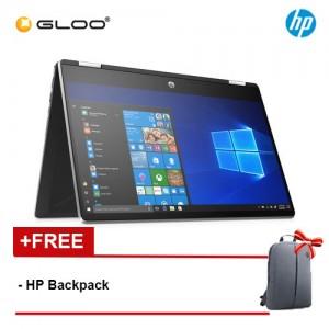 "NEW HP Pavilion x360 14-dh0040TX 14"" HD 2 in 1 Laptop (i3-8145U, 128GB SSD, 4GB, NVIDIA MX130 2GB, W10) - Silver [FREE] HP Backpack"
