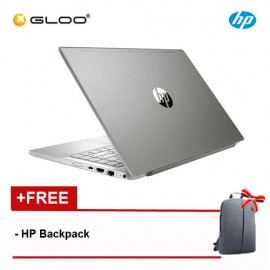 HP Pavilion 14-CE0084TX Notebook (i7-8550U, 1TB+128GB, 4GB, W10) - Silver [FREE] HP Backpack