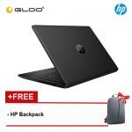 """NEW HP 14-ck0099TU 14"""" HD Laptop (i3-7020U, 1TB, 4GB, Intel® HD Graphics 620, W10) - Black [FREE] HP Backpack"""