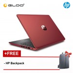"HP 14-ck0101TU 14"" HD (i3-7020U, 1TB, 4GB, Intel® HD Graphics 620, W10) Notebook - Red [FREE] HP Backpack"