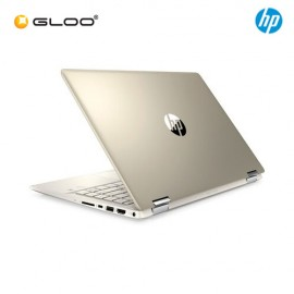 "NEW HP Pavilion x360 14-dh0042TX 14"" FHD 2 in 1 Laptop (i7-8565U, 256GB SSD, 4GB, NVIDIA MX250 2GB, W10) - Gold [FREE] HP Backpack"