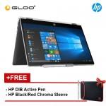 "NEW HP Pavilion x360 14-cd1015tx 14"" FHD Flip Laptop (i5-8265U, 1TB + 8GB NAND, 4 GB, NVIDIA MX130 2GB, W10) - Mineral Silver [FREE] HP DIB Pen + HP Chroma Sleeve"