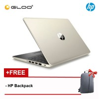 NEW HP 14s-cf1025TX 14' FHD Laptop (i5-8265U, 1TB, 4GB, AMD Radeon 530 2GB ,W10) - Silver [FREE] HP Backpack