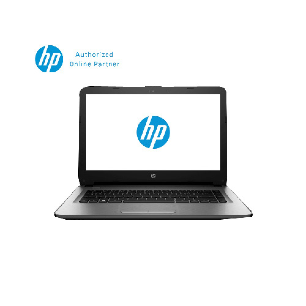 "HP 14-af106AX V5D27PA 14"" HD (AMD, 2GB, 500GB, AMD R5, W10) - Silver"