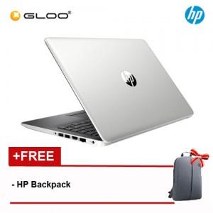 """NEW HP 14-cm0107au 14"""" FHD Laptop (AMD Ryzen 5-2500U, 1TB, 4GB, AMD Radeon Vega 8, W10) - SIlver [FREE] HP Backpack"""