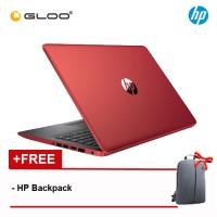"NEW HP 14-cm0108au 14"" FHD Laptop (AMD Ryzen 5-2500U, 1TB, 4GB, AMD Radeon Vega 8, W10)  - Red [FREE] HP Backpack"
