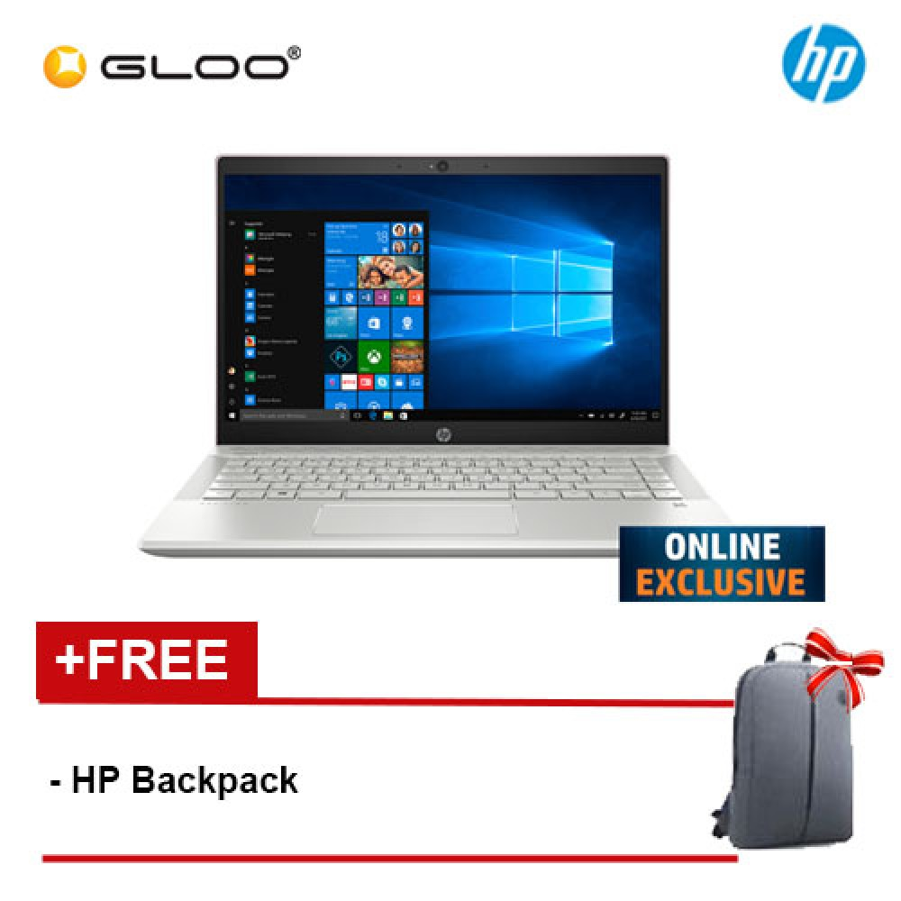 """*ONLINE EXCLUSIVE* NEW HP Pavilion 14-ce2089TX 14"""" FHD Laptop (i5-8265U, 512GB SSD, 8GB, NVIDIA MX250 2GB, W10) - Tranquil Pink [FREE] HP Backpack"""