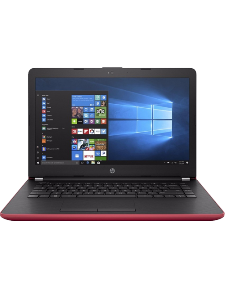 "HP Notebook - 14-bs581tu 2LS66PA 14"" HD (i3-6006U, 4GB, 1TB, Intel® HD, W10H) - Red"