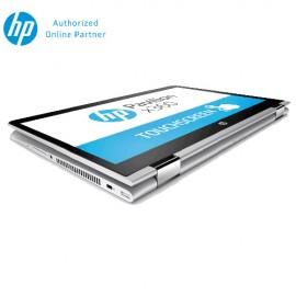 "HP Pavilion x360 14-ba063TX 14"" Laptop (I3-7100U, 4GB, 500GB, GF940MX 2GB, W10H) – Natural Silver (2DN63PA)"