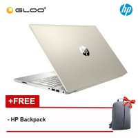 "HP Pavilion 15-cs1026TX 15.6"" FHD Laptop (i5-8265U, 1TB, 4GB, Nvidia MX150 2GB, W10) -Gold [FREE] HP Backpack"