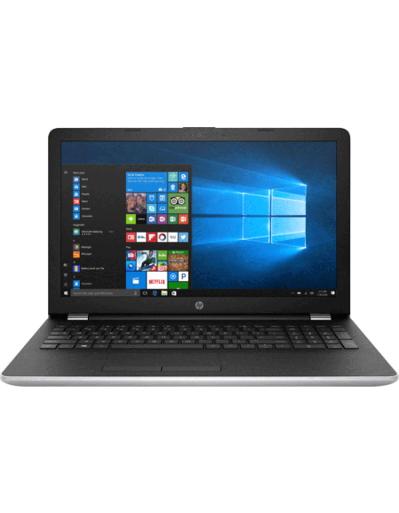 "HP 15-bs642TX 15.6"" FHD Laptop (I5-7200U, 4GB, 1TB, ATI 520 2GB, W10) - Silver"