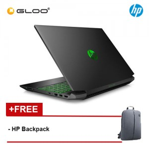 "NEW HP Pavilion Gaming Laptop 15-ec0017AX 15.6"" FHD (AMD Ryzen 7 3750H, 1TB, 8GB, NVIDIA GTX 1650 4GB, W10) - Shadow Black [FREE] HP Backpack"