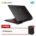 NEW HP OMEN 15-dc0093TX Laptop (i7-8750H, 1TB+128GB, 8GB, Nvidia GTX1050 Ti 4GB, W10) - Black [FREE] HP Backpack