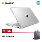 "HP Laptop 15s-du1006TX 15.6"" FHD (i7-10510U, 512GB SSD, 4GB, NVIDIA MX250 4GB, W10) - Silver [FREE] HP Backpack"
