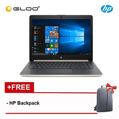 HP 14-cm0012AX HP14/Ryzen3-2200U/4GB DDR4/1TB/No ODD/Win10/Radeon 520 2GB/1YR/BP/Gold