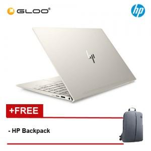 "HP Laptop ENVY 13-aq1002TX 13.3"" FHD (i7-10510, 512GB SSD, 16GB, NVIDIA MX250 2GB, W10) - Gold [FREE] HP Backpack"