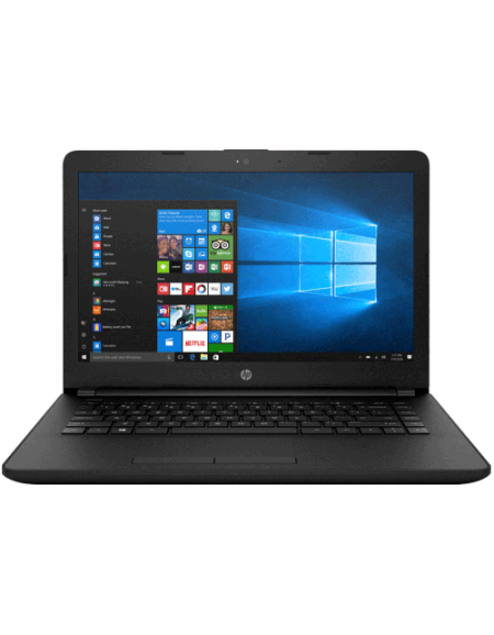"HP 14-bs537TU 14"" Laptop (Celeron N3060, 4GB, 500GB, Intel, W10H) - Black"