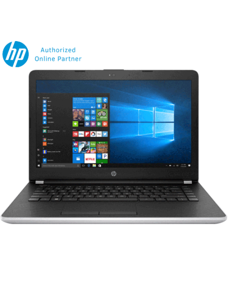 "HP 14-bs538TU 14"" Laptop (Celeron N3060, 4GB, 500GB, Intel, W10H) - Silver"