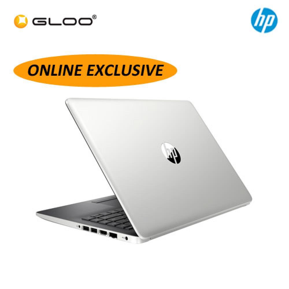 "NEW HP 14-ck0124TU 14"" HD Laptop (i3-8130, 256GB, 4GB, Intel UHD Graphics 620, W10) - Silver  *ONLINE EXCLUSIVE*"
