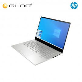 "NEW HP ENVY Laptop 15-ep0009TX 15.6"" FHD (i5-10300H, 512GB SSD, 16GB, NVIDIA GTX 16590 Ti 4GB, W10H) - Silver [FREE] HP Backpack + Pre-Installed with Microsoft Office Home and Student (Grab/Touch & Go credit redemption : 21/11/20-31/1/21*)"