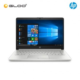"NEW HP 14s-dk0001AU 14"" HD Laptop (AMD A6-9225, 500GB, 4GB, AMD Radeon R4, W10) - Silver [FREE] HP Backpack"