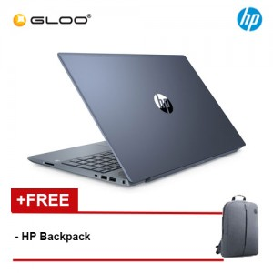 "NEW HP Pavilion Laptop 15-cs3068TX 15.6"" FHD (i5-1035G1, 512GB SSD, 4GB, NVIDIA MX250 2GB, W10) - Fog Blue [FREE] HP Backpack [Redeem MS Office 365 Personal worth RM499 - 20 Dec 2019 - 15 Feb 2020*]"
