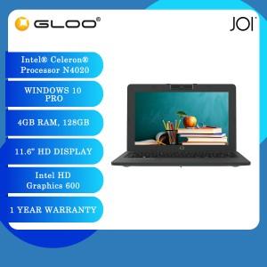 "JOI Classmate 10 (Celeron N4020,4GB,128GB eMMC, Intel UHD Graphics 600, 11.6""HD,W10 Pro,Grey)"