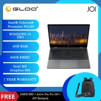 "JOI Book Touch 330 Pro (N4120,4GB+64GB,13.3"" FHD,W10Pro) {Free 256GB SSD + Active Pen Pro 330 + JOI backpack}"