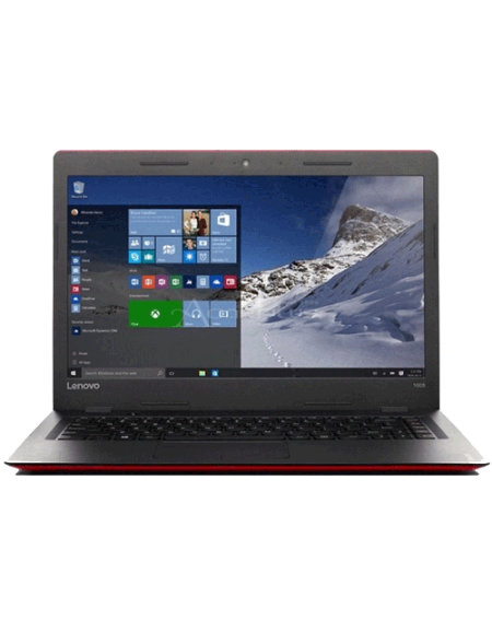 "Lenovo Ideapad 110-14IBR 80T60070MJ 14"" Laptop (Celeron N3060 , 4GB, 500GB, Integrated, W10H) - Red"