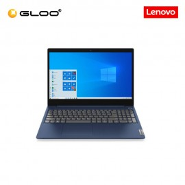 "Lenovo IP3 15ARE 81W400ACMJ Notebook (Ryzen5-4500U,4G,512G SSD,RadeonGrphics,15.6""FHD,H&S,W10H,Blue) + Free Lenovo Backpack + Pre-installed Office Home and Student 2019"