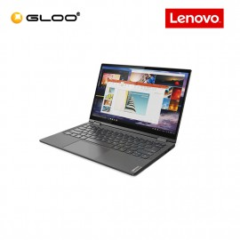 "Lenovo Yoga C640-13IML 81UE0015MJ 13.3"" FHD Touch Screen 2 in 1 Laptop (i7-10510U, 256GB SSD, 8GB, Integrated Intel HD Graphics 620, W10, OH&S) - Iron Grey [Free] Lenovo Sleeve + Pen"