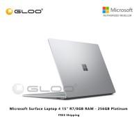 "Microsoft Surface Laptop 4 15"" R7/8GB RAM - 256GB Platinum - 5UI-00018"