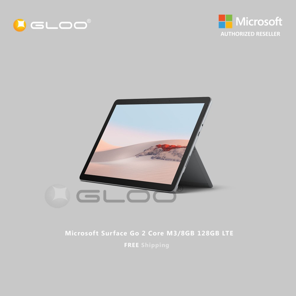 (Surface for Student 5% off) Microsoft Surface Go 2 Core M3/8GB 128GB LTE - TFZ-00007