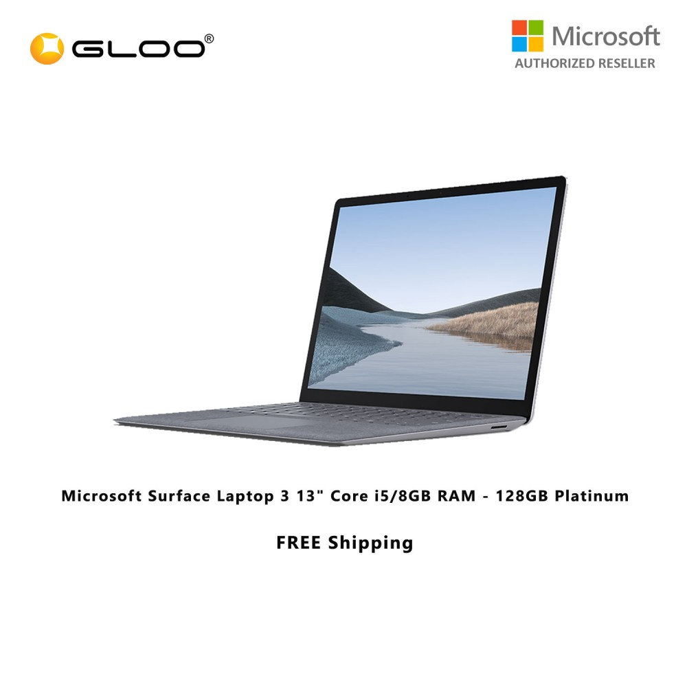 "(Pre-Order) Microsoft Surface Laptop 3 13"" Core i5/8GB RAM - 128GB Platinum - VGY-00016 (ETA:2020-07-20)"