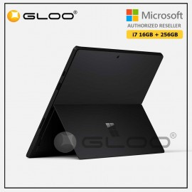 Microsoft Surface Pro 7 Core i7/16G RAM - 256GB Black - VNX-00025 + Surface Pro Type Cover Poppy Red + F-Secure Endpoint Protection