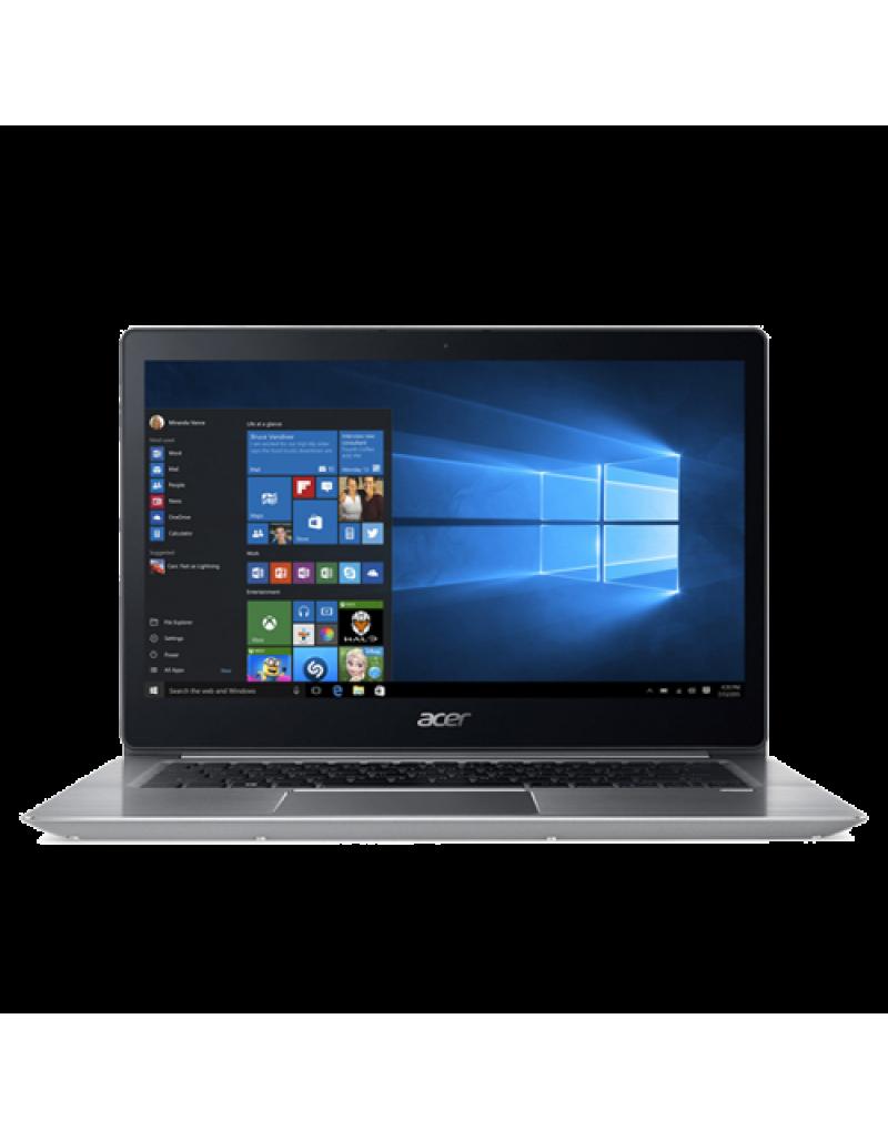 """Acer Swift 3 SF314-52-549V 14"""" Laptop (I5-8250U, 4GB, 256GB SSD, Intel 620, W10H) – Sparkly Silver"""