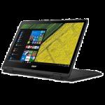 """Acer Spin 5 SP513-51-30G5 13.3"""" Laptop (I3-7100U, 4GB, 128GB SSD, Intel 520, W10H) – Obsidian Black"""