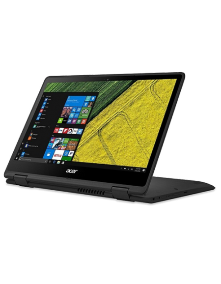 "Acer Spin 5 SP513-51-30G5 13.3"" Laptop (I3-7100U, 4GB, 128GB SSD, Intel 520, W10H) – Obsidian Black"
