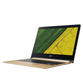 "Acer Swift 7 SF713-51-M722 13.3"" Laptop (I5-7Y54, 8GB, 256GB SSD, Intel 615, W10H) – Luxury Gold"