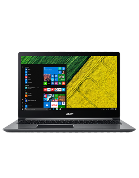"Acer Swift 3 SF315-51G-56T6 15.6"" Laptop (I5-8250U, 8GB, 256GB SSD, MX150 2GB, W10H) – Steel Grey"