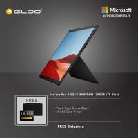 Microsoft Surface Pro X SQ1/8GB RAM -256GB LTE Black + Pro X TC Black + Shield Care 1 Year