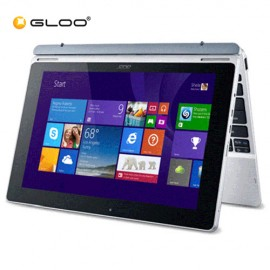 """Acer Aspire Switch 10 SW5-012-187Xi 10.1"""" Laptop (Atom Z3735F, 2GB, 32GB, Intel, W8.1) - Grey"""