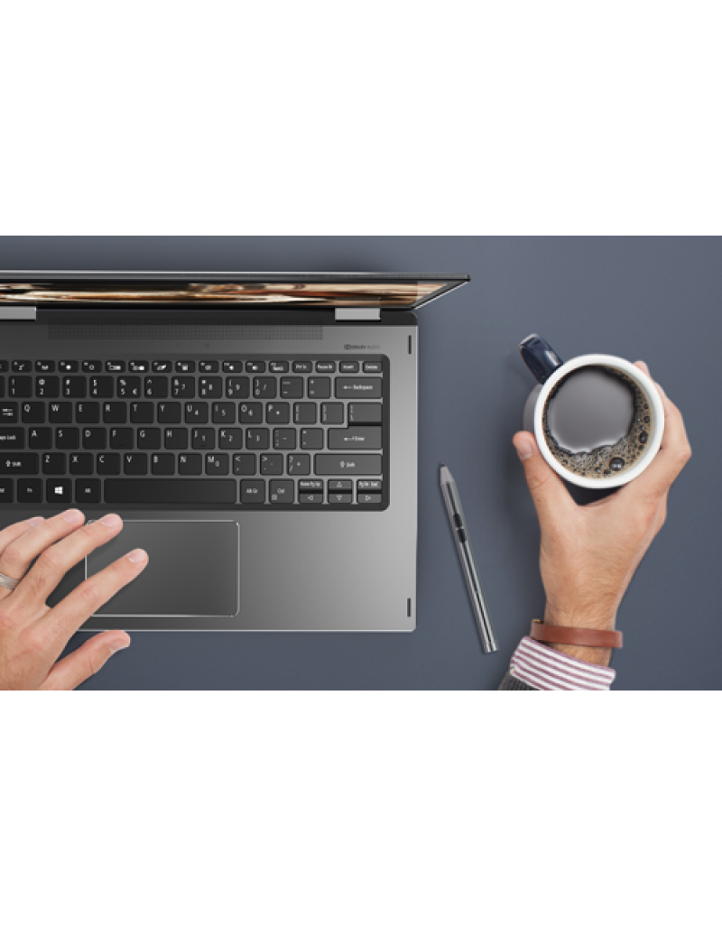 "Acer Spin 5 SP515-51GN-83NU 15.6"" Laptop (I7-8550U, 8GB, 256GB SSD, GTX 1050 4GB, W10H) – Steel Grey"