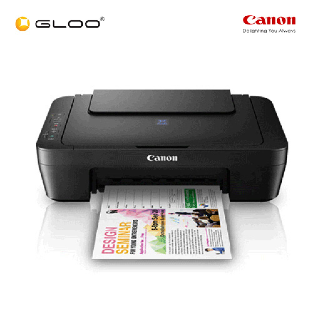 Canon E410 Aio Printer Cl 57 Colour Ink Catridge Pg 47 Black Original 100